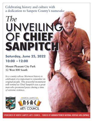 Unveiling Chief Sanpitch: Monument Dedication