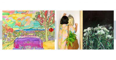 Art Exhibitions by Annelise Duque & Gwen Davis...