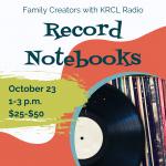 Family Creators: Record Notebooks
