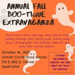 2nd Annual Fall Boo-tique Extravaganza