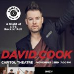 Park City Film Studios: A Night of LIVE Rock N' Roll Starring David Cook with The Grimm & Special Guest