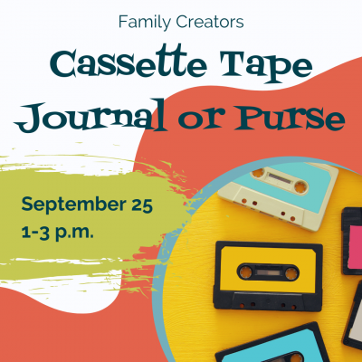Cassette Tape Journals and Purses Workshop