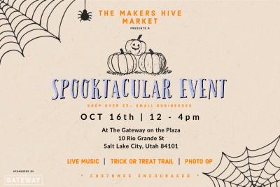 Spooktacular Makers Hive Market