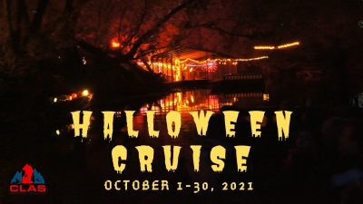 Halloween Riverboat Ride on the Provo River