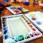 Watercolor Pour Class | Age 12+