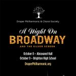 A Night on Broadway and the Silver Screen- Draper Philharmonic & Choral Society In Concert