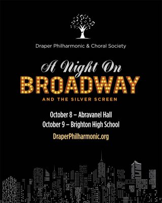 A Night on Broadway and the Silver Screen- Draper ...