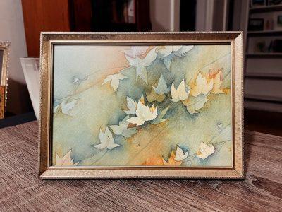 Watercolor Basics: Layering with Nature