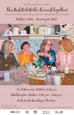 Red Dirt Girls: Peace'd Together Exhibit Opening
