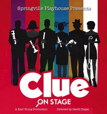 """""""Clue"""" on stage"""