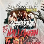 Zombiewood Halloween party with motley 2 and dirt cheap