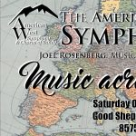 The American West Symphony October Concert: Music Across Europe
