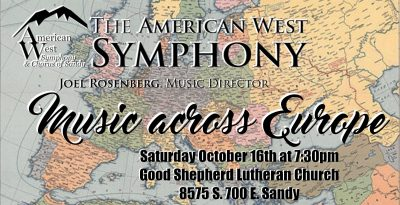 The American West Symphony October Concert: Music ...