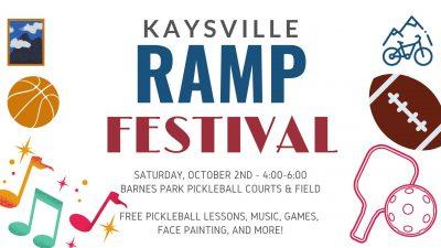 Kaysville RAMP Festival