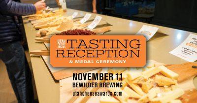 Utah Cheese Awards 2021 Tasting Reception and Meda...