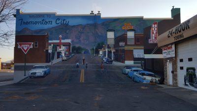 1960's Main Street Welcome Mural
