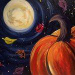 Paint on Tap at Beer Beer: Harvest Pumpkin Moon