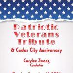 2021 Patriotic Veterans Tribute & Cedar City Anniversary