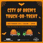 City Of Orem's Truck-Or-Treat