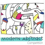 Receiving Art Work for a Modern Abstract Competition