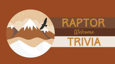 Raptor Trivia