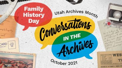 Family History Day 2021: Conversations in the Arch...