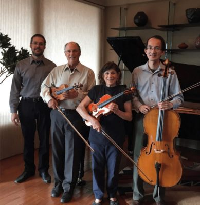 Brahms & Dvorak Quartet