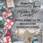 Clearfield Community Band Holiday Fun Concert