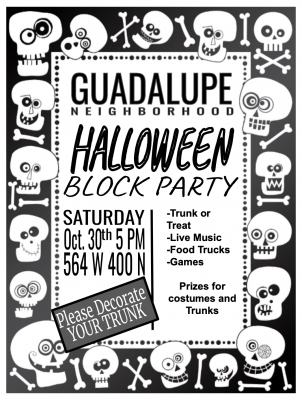Guadalupe Neighborhood Halloween Block Party