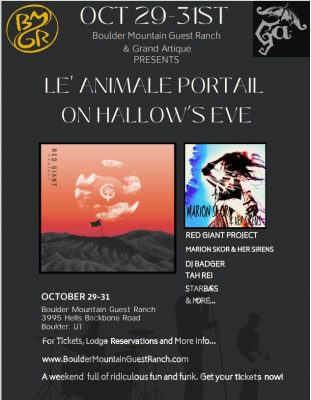 Le' Animale Portail on Hallow's Eve