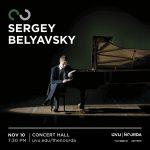 Sergey Belyavski in Concert