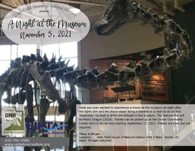 A Night at the Museum: Pete's Dragon