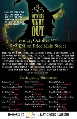 Witches Night Out in Price