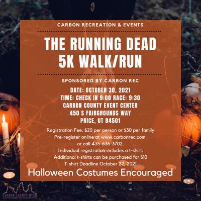 The Running Dead 5k Walk/Run
