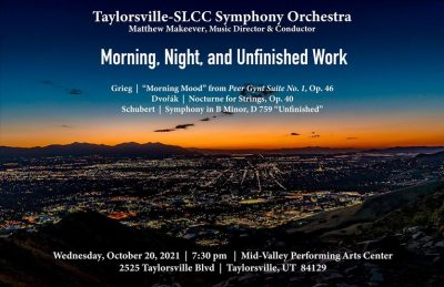 Taylorsville-SLCC Symphony Orchestra Performs in F...