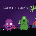 TRICK OR TREAT AT THE HAUNTED LIBRARY