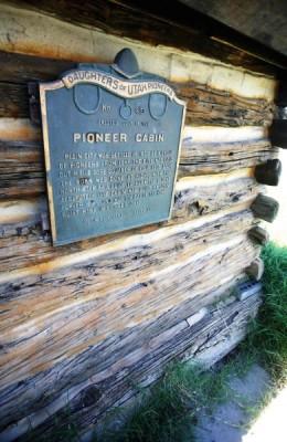 John Carver Cabin Museum Plain City Camp DUP