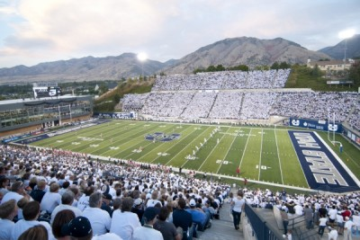 Merlin Olsen Field at Maverik Stadium